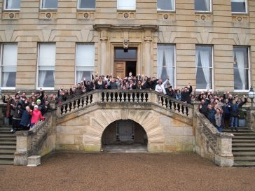 Christmas Celebration at Heythrop Park in Oxfordshire